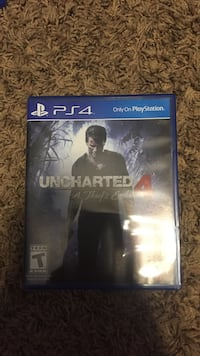Sony PS4 Uncharted 4 game case Denison, 75020