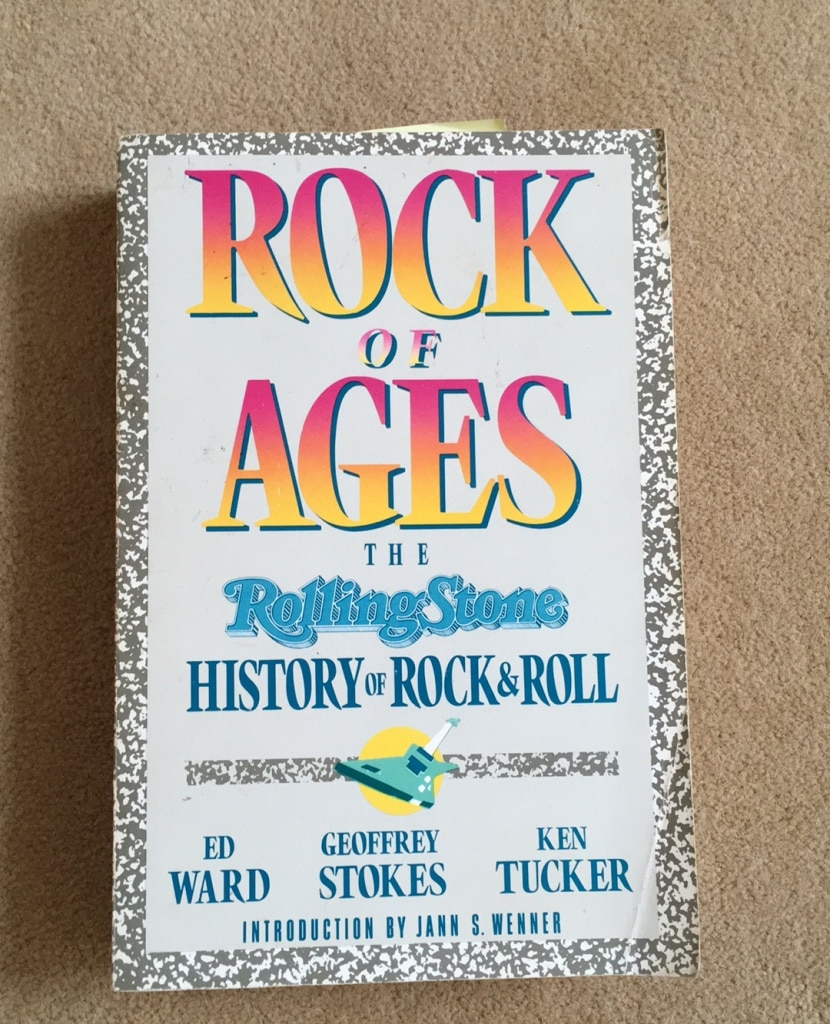 Photo Book rock of ages rolling stone history of rock and roll