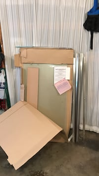 """Agalite 59"""" shower door, never installed and still (mostly) in box."""