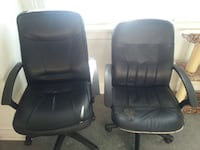 Office chairs for $10 each Victoria, V9A 3M4
