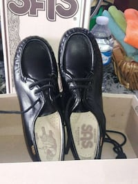 pair of black leather shoes San Diego, 92154
