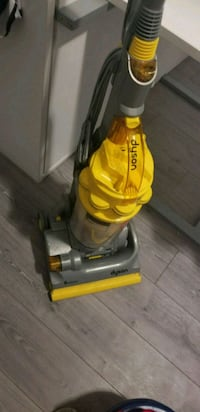 yellow and gray Dyson upright vacuum cleaner Oshawa, L1G 4Y3