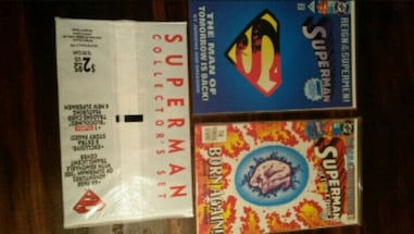 10 MINT superman comics