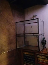 2- 10 gallon fish tanks $10.00 each Tucson, 85706