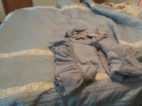 Blue new king bed spread with curtins dull Greeneville, 37745