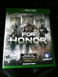 For Honor Xbox One game case Braddock, 15104