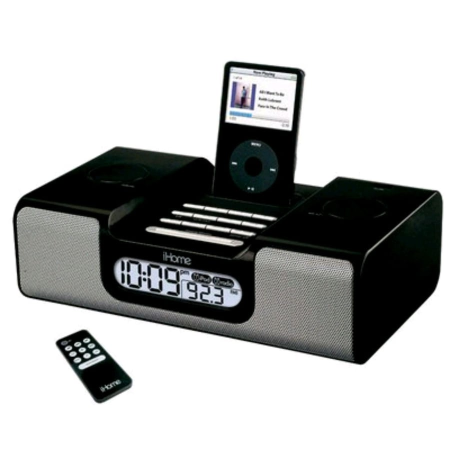 IHome IH6 IHome IH6 Clock Radio With Iphone/ipod Dock Speakerwith