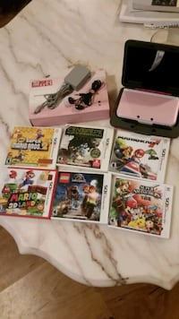 Nintendo 3 DS XL and games