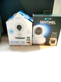 2 Brand New, Wifi App Controlled Rotating Security Camera.  Centreville, 20120