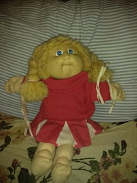 baby doll in red and white dress Norman, 73069