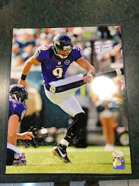 Justin Tucker Autographed Photo