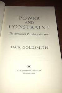 Power and constrain jack goldsmith g Los Angeles, 90063