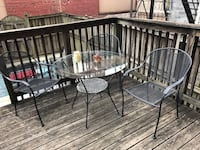 Glass outdoor table Arlington, 22209
