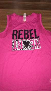 Rebel love women muscles shirt  Windsor, N8P 1Y8