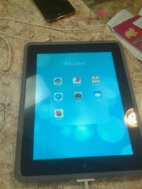 black iPad with grey case Alexandria