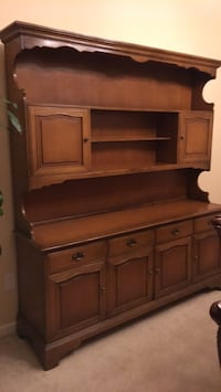 brown wooden dresser with mirror Brentwood, 94513