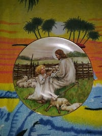 """1988 """"The Lord's My Shepard"""" Hallmark Plate by Cicely Mary Barker El Cajon, 92020"""