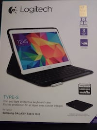Logitech Type-S Keyboard & Case for Samsung Galaxy Tab S 10.5 CENTREVILLE