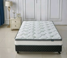 Full or queen-size mattress used to fair condition