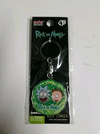 Rick and Morty keychain Rockville, 20850