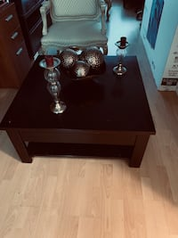 Coffee Table real wood might need minor touch up I bought it $600