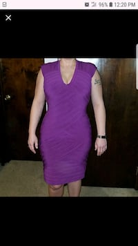 women's purple sleeveless dress  Bourbonnais, 60914
