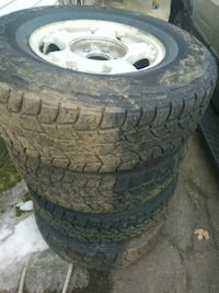 Six. Lugs rims and. Tires very good conditions West Springfield, 01089