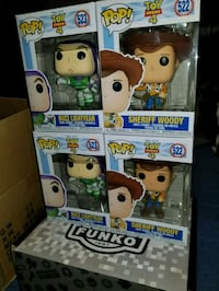 Toy story funko pops $25 EACH (FIRM PRICE) Toronto, M1L 2T3