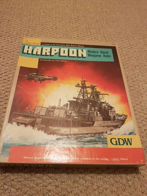 Harpoon - Tabletop Naval Wargame
