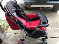 baby's red and black stroller Portland, 78374