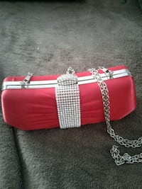 Prom dress purse/ like new Kirkland