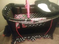 Minnie mouse stroller and play pen Lawrenceville, 30043