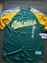 Brand New OAKLAND A's JERSEY Morgan Hill