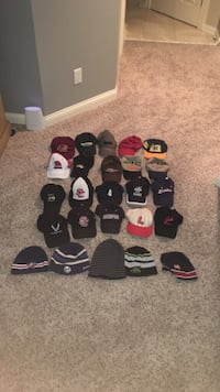 25 assorted caps and beanies Columbus, 43224