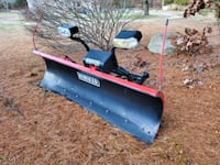 Hiniker Snow Plow Model No. DB-7929-1 Like New 8' Blade with Lights