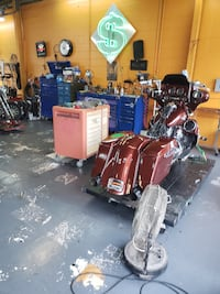 Motorcycle shop for sale!