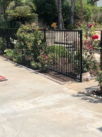 Iron fance with 3 gates  San Dimas, 91773
