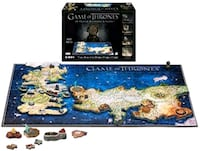 Game of Thrones 4D Puzzle of Westeros & Essos Whitby, L1N