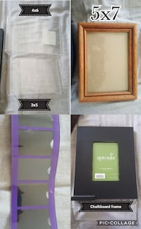 four assorted photo frames collage Virginia Beach, 23455