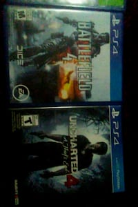 two assorted Sony PS4 game cases Edmonton, T5R 2N8