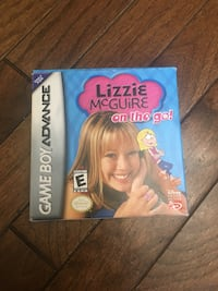 Lizzie McGuire Game boy game  London, N5W 5E4