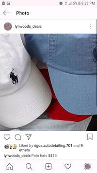 Polo hats adults 2270 mi