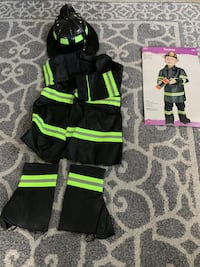 Toddler fireman coatume Tustin, 92782