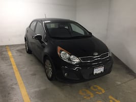 Black kia - rio 5 Ex hatch back - 2015