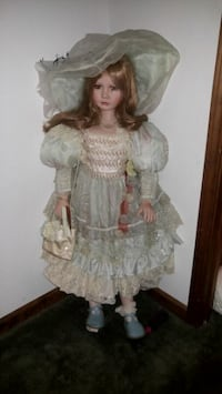 Collectible 4ft porcelain doll from Tuss Lake Charles, 70601