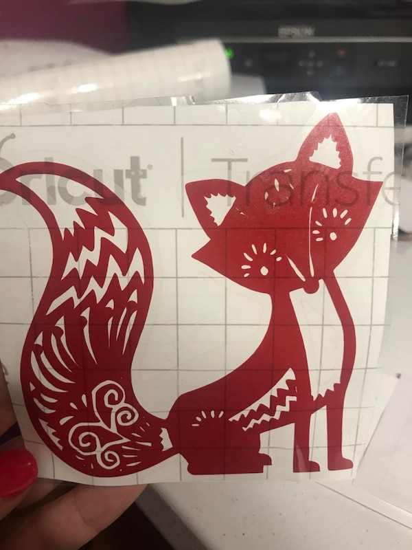 Used Red And White Wooden Wall Decor For Sale In Rocky