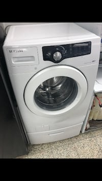 white Samsung front-load clothes washer Wilmington