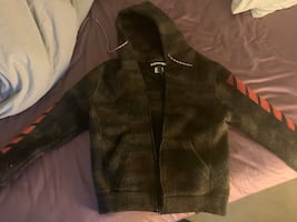 Off-White hoodie jacket Size Small