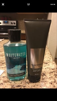 Men's lotion and body wash brand new I will throw in another lotion for free San Tan Valley, 85140