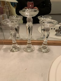 Crystal candlesticks  Wenatchee, 98801